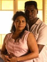 Deborah Mailman as Bonita and Jimi Bani as Eddie Mabo in Mabo on ABC1