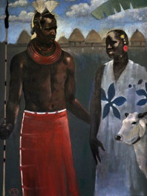 african-adam-and-eve