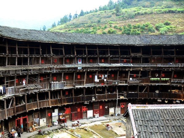 Yuchanglou, a tulou built in 1308. Credit: Gisling