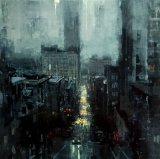 'The City Tempest' by Jeremy Mann, 2013.