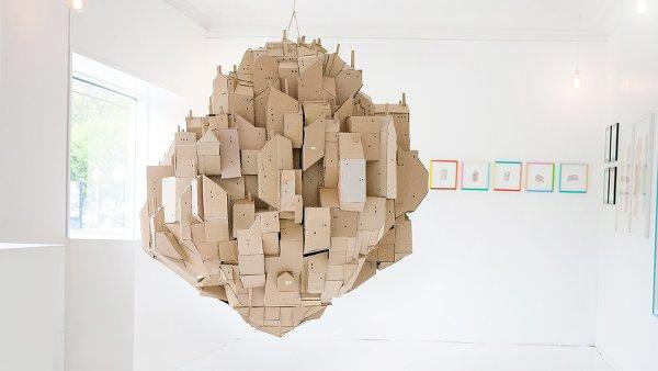 'Floating City' by Nina Lindgren, 2014.