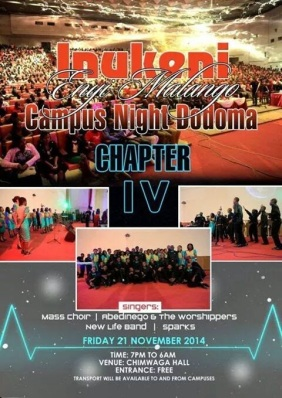 Dodoma 'Campus Night' 2014