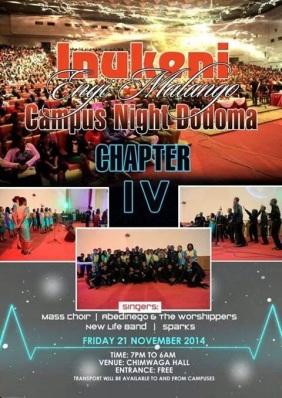 Dodoma 'Campus Night' 2014